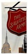 Salvation Army New York Beach Towel