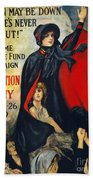 Salvation Army Poster, 1919 Beach Towel