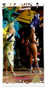 Samba Dancers Beach Towel