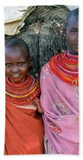Samburu Sisters Beach Towel