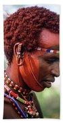 Samburu Warrior Beach Sheet