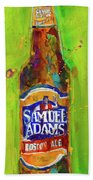 Samuel Adams Boston Ale Beach Towel