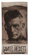 Samuel Beckett 01 Beach Towel