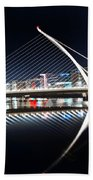 Samuel Beckett Bridge 3 V2 Beach Towel