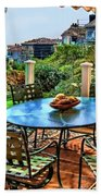 San Clemente Estate Patio Beach Towel