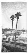 San Clemente Pier California Beach Towel