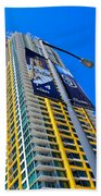 San Diego Apartment Tower Beach Towel