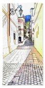 San Felice Circeo Street Beach Sheet