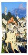 San Francisco 1906 - Modern Art Beach Towel