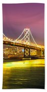 San Francisco - Bay Bridge Beach Towel