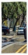 San Francisco, Cable Cars -1 Beach Towel