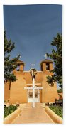 San Francisco De Assisi Mission Church Taos New Mexico 2 Beach Towel