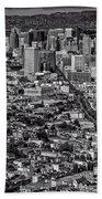 San Francisco From Twin Peaks Beach Towel
