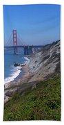 San Francisco - Golden Gate Bridge Beach Towel