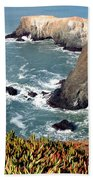 Marin Headlands Bunker Beach Towel
