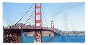 San Francisco's Golden Gate Bridge Beach Sheet