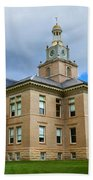 San Juan County Courthouse Beach Towel