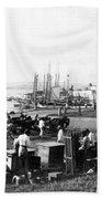 San Juan Harbor - Puerto Rico - C 1900 Beach Sheet