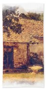 San Juan Mission Residence Beach Towel