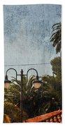 San Luis Obispo Railroad Depot Beach Towel