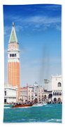 San Marco Square Waterfront Beach Towel