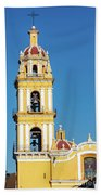 San Pedro Church Tower Beach Towel