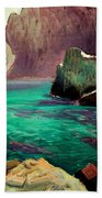 San Vicente Cove Mallorca Beach Towel