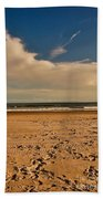 Sand And Clouds Beach Towel
