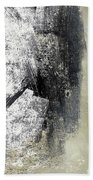 Sand And Steel- Abstract Art Beach Towel