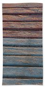 Sand And Sunset Beach Towel