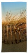 Sand Dune In Late September - Jersey Shore Beach Towel