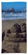 Sand Frog  Beach Towel