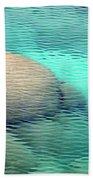 Sand Harbor Ripples Beach Towel