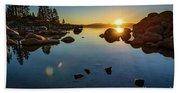 Sand Harbor Sunset Beach Sheet