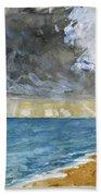 Sandgate Beach. Kent  Beach Towel