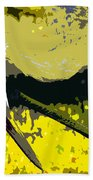 Sandhill Scratching Beach Towel