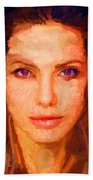 Sandra Jolie Beach Towel