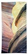 Sandstone Curve. Beach Towel