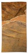 Sandstone Fins Beach Towel