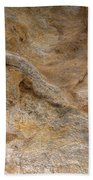 Sandstone Formation Number 4 At Starved Rock State Beach Towel