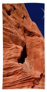 Sandstone Moon Beach Towel