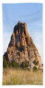 Sandstone Spires In Garden Of The Gods Beach Towel