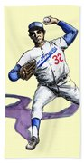 Sandy Koufax Beach Towel