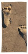 Sandy Toes Beach Towel
