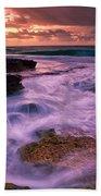 Sandys At Dawn Beach Towel