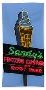 Sandys Frozen Custard - Austin Beach Towel
