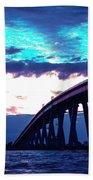 Sanibel Causeway Bridge Beach Towel
