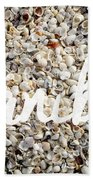 Sanibel Island Seashells Beach Sheet