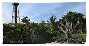 Sanibel Light And Driftwood Beach Towel