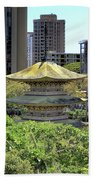 Sanju Pagoda 2 Beach Towel